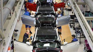 BMW stoppt Produktion in Leipzig
