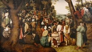 Wem gehören Johannes und seine Jünger?