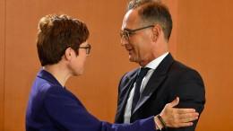 Maas: Kramp-Karrenbauer hat deutsche Außenpolitik beschädigt
