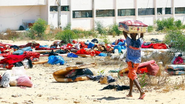Migrant vor Augen von UN-Helfern erschossen