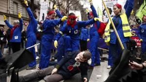 Proteste in Frankreich gehen weiter