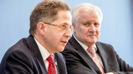 Seehofer: Ich werde Maaßen nicht entlassen