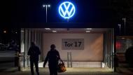 Hier produziert niemand mehr: das VW-Werk in Wolfsburg