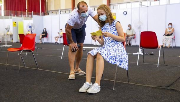 Impf-Angebot ab 12 Jahren und Auffrischimpfung