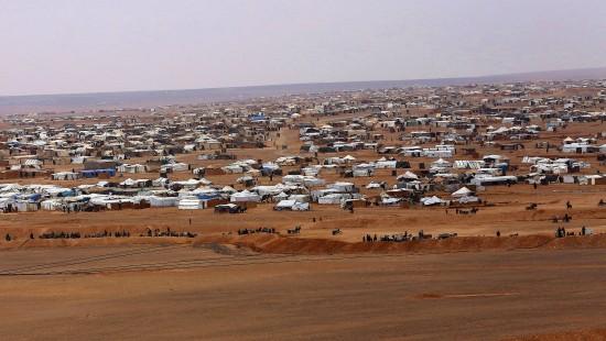Verzweifelte Situation in Flüchtlingslager