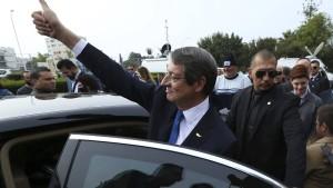 Präsident Anastasiades gewinnt Stichwahl