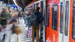 Personenunfall im Frankfurter S-Bahn-Tunnel