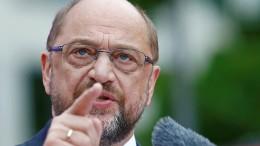 Schulz misstraut Rentenplänen der CDU