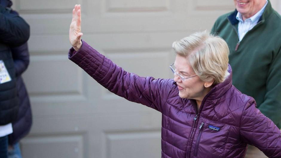 Elizabeth Warren macht Platz für Biden und Sanders