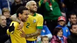 Brasilien und Scolari weiter sieglos