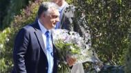Orbán bei Kohl in Oggersheim eingetroffen