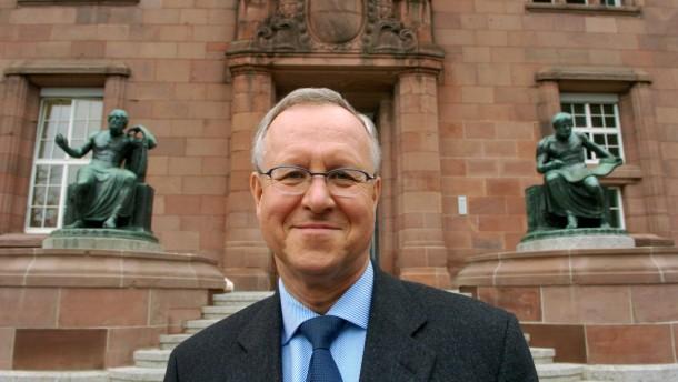 Jubiläum 550 Jahre Uni Freiburg - Rektor Jäger