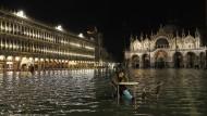 Überflutet: Auch Venedig wird immer wieder vom Hochwasser heimgesucht, hier im März 2018