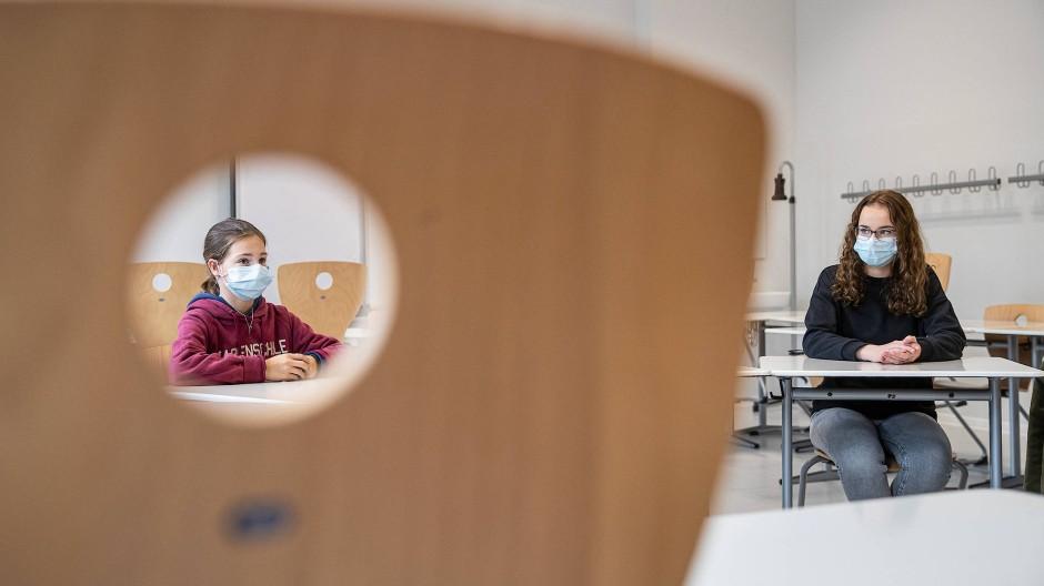 Pandemie-Perspektive: Oft genug stand dieses Jahr nicht der Lehrstoff im Fokus, sondern der Schutz vor Ansteckung.