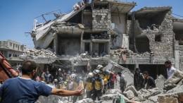 Mehr als 30 Tote bei Luftangriffen in Syrien