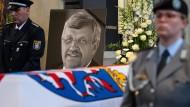 Der Trauergottesdienst für den ermordeten Kasseler Regierungspräsidenten Walter Lübcke am Donnerstag in Kassel