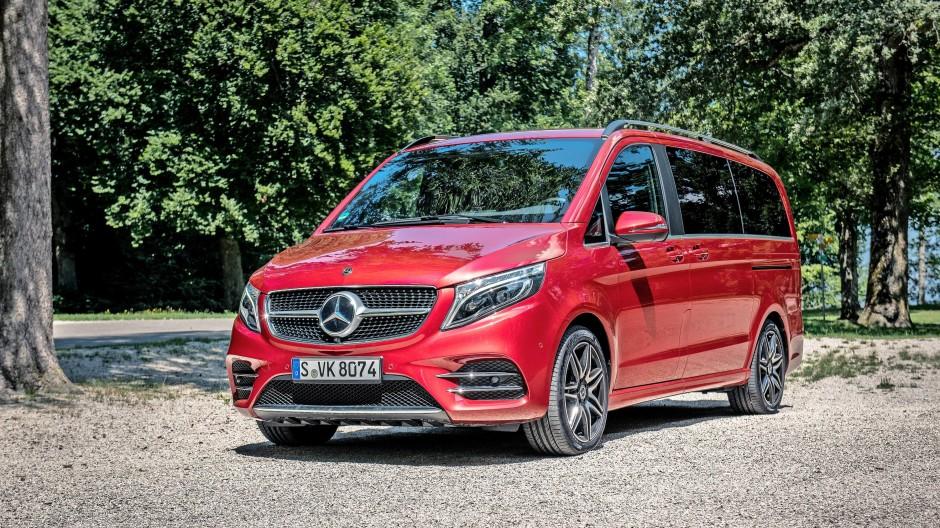 Freund der Familie: Mercedes-Benz V-Klasse mit bis zu acht Wohnsitzen