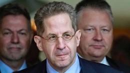"Maaßen tritt der konservativen ""WerteUnion"" bei"