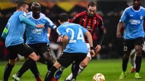FC Düdelingen 91 verpasst Überraschung bei Milan