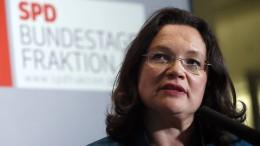 Nahles: Viel Sexismus in der deutschen Politik