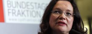 Auch Andrea Nahles hat in der deutschen Politik schon häufig Erfahrungen mit Sexismus gemacht.