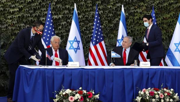 Amerika weitet staatliche Förderung auf Siedlungen aus