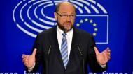 Fordert die Briten auf, schnell zu handeln: EU-Parlamentspräsident Martin Schulz