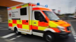 Verletzter Radfahrer greift Sanitäter an