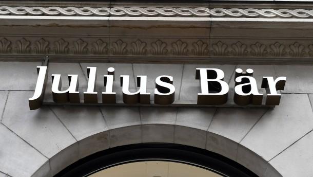 Julius Bär zahlt für Ende der Geldwäsche-Untersuchung in Amerika