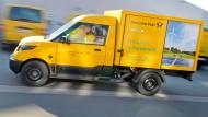 Der tausendste Elektro-Transporter der Post