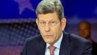 """Auch in der Talkshow war er schon mal: Bernhard Mattes bei """"Maybrit Illner"""""""