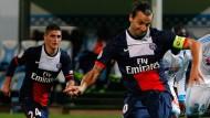 Freie Fahrt für freie Fußballer: Für Zlatan Ibrahimovic und seinen Klub PSG wäre Duponts Klage gewinnbringend