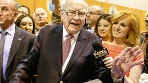 Buffett kann seine Milliarden nicht mehr unterbringen