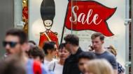 Was wird nun aus uns? Menschen in London kurz nach der Verkündung des Brexit-Votums