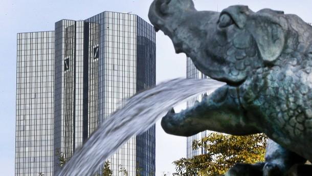 Deutsche Bank hat acht Milliarden Euro mehr in der Kasse