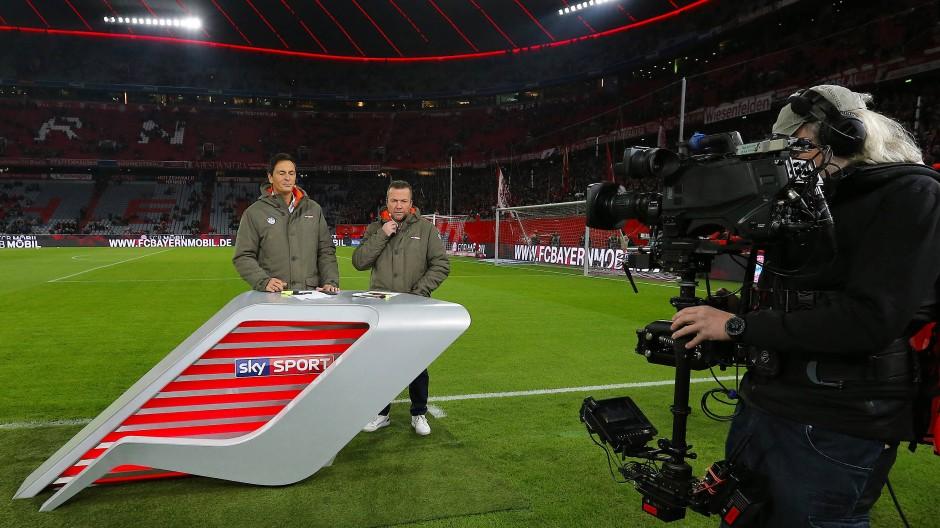 Nicht selbstverständlich: Sky-Übertragung in Klarsicht vom Bundesliga-Spiel Bayern München gegen Borussia Dortmund