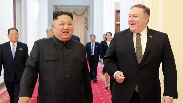 Nordkorea fordert Ausschluss Pompeos von Atomgesprächen