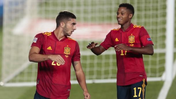 17-Jähriger Ansu Fati nun jüngster Torschütze der Selección