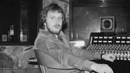 Los Angeles im April 1976: Martin Birch bei Aufnahmen mit der Band Rainbow