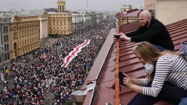 """Kreml warnt Belarus vor """"Abnabeln von Russland"""""""