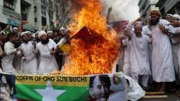 15.000 Muslime fordern Krieg gegen Burma
