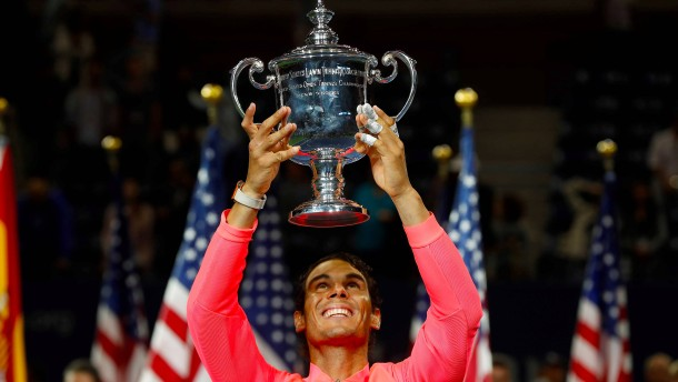 Nadal gewinnt zum dritten Mal US Open