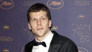 Jesse Eisenberg beim Filmfestival in Cannes