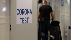 Coronatests für Reisende aus Risikoländern sind nun Pflicht