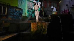 Zustand in Favelas immer dramatischer