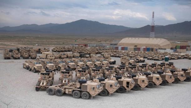 Vereinigte Staaten reduzieren Truppenstärke