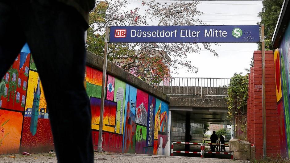 Attacke in S-Bahnhof Düsseldorf: Verdächtiger festgenommen