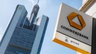 Bei der Commerzbank sollen 9600 Stellen wegfallen.