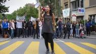 """Die Klimaschutzgruppe """"Extinction Rebellion"""" fürchtet die Auslöschung der Menschheit."""