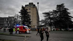 Explosion auf Campus bei Lyon